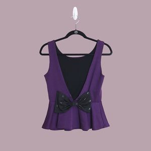 Urban Outfitters NWOT Purple Sleeveless Top